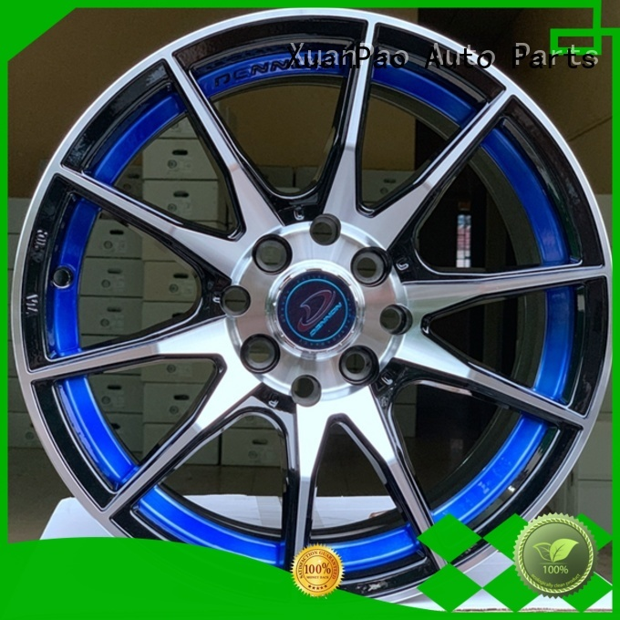 XPW fashion 15 inch black rims customized for Toyota