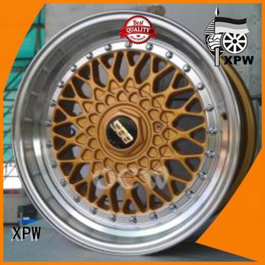 XPW alloy black steel wheels 17 OEM for Toyota