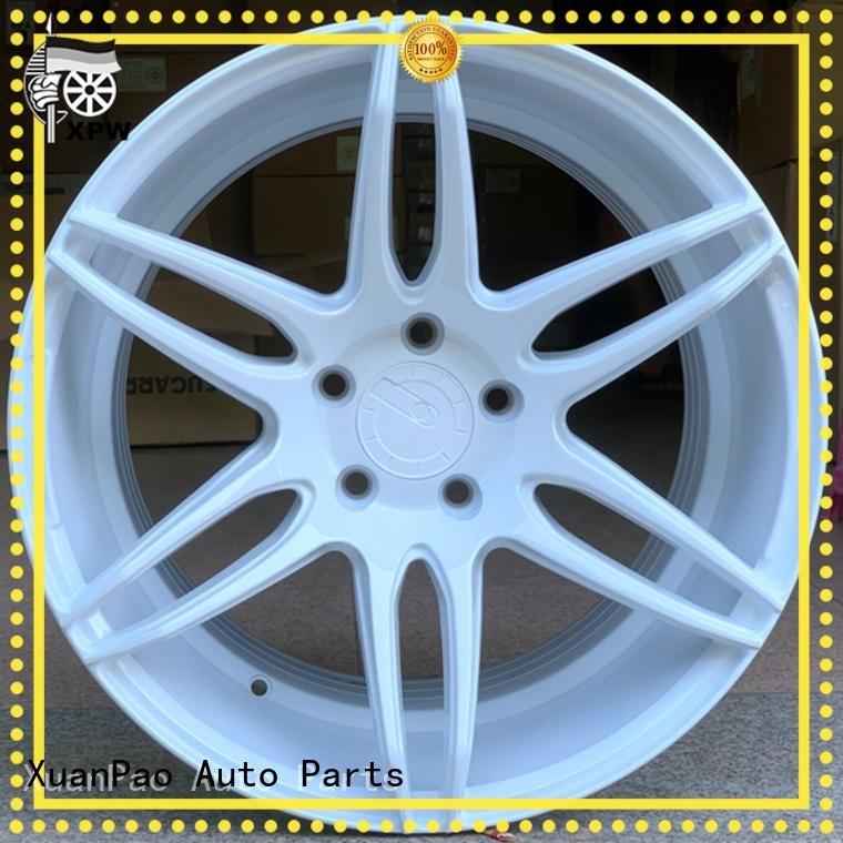 durable 18 inch white rims aluminum OEM for Toyota