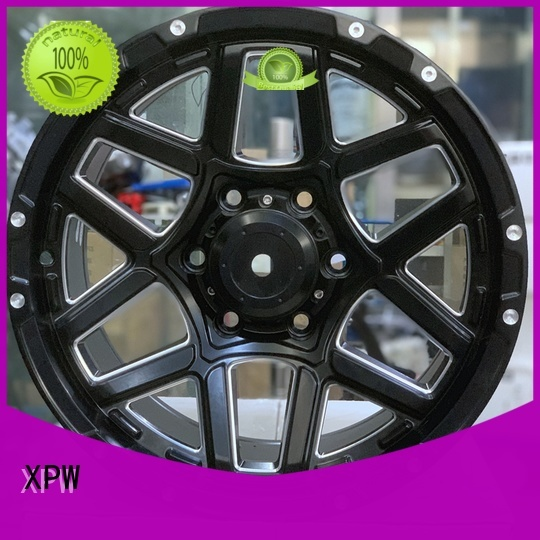 high quality 17 black wheels matte black OEM for Toyota