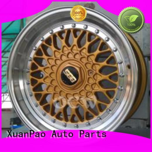 XPW aluminum black and red truck rims series for cars