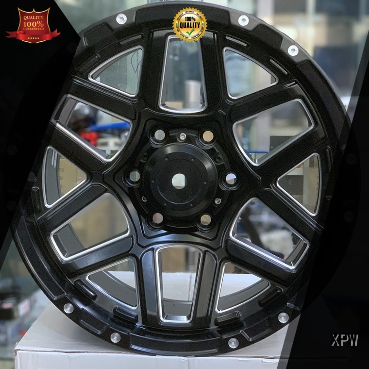 fashion new rims matte black manufacturing for cars