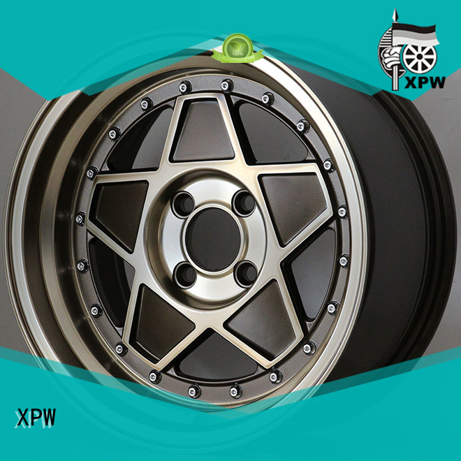 XPW professional 15 4x100 steel wheels customized for Honda series