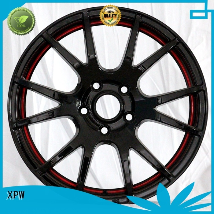 XPW long lasting 15x8 steel wheels design for vehicle