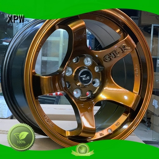 XPW novel design with beautiful shape 15 inch jeep rims manufacturing for Honda series