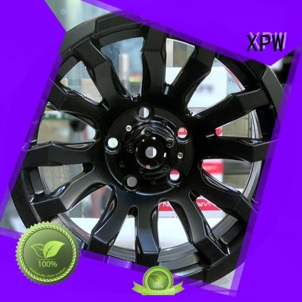XPW aluminum 15x8 4x100 steel wheels design for vehicle