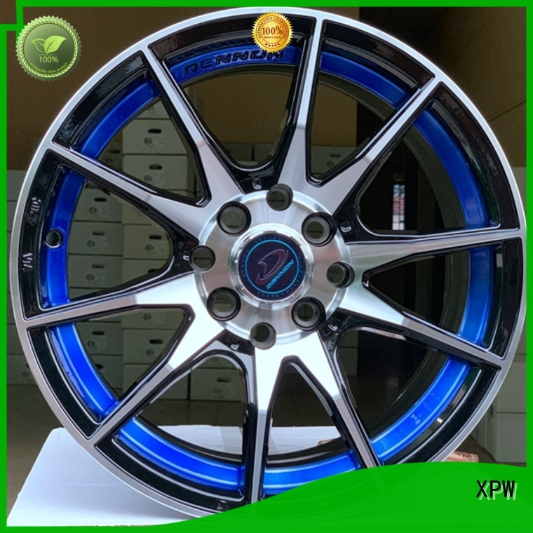 professional black wheels aluminum manufacturing for vehicle