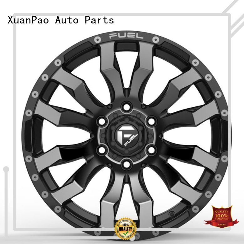 XPW fashion 20 inch black truck wheels supplier for vehicle