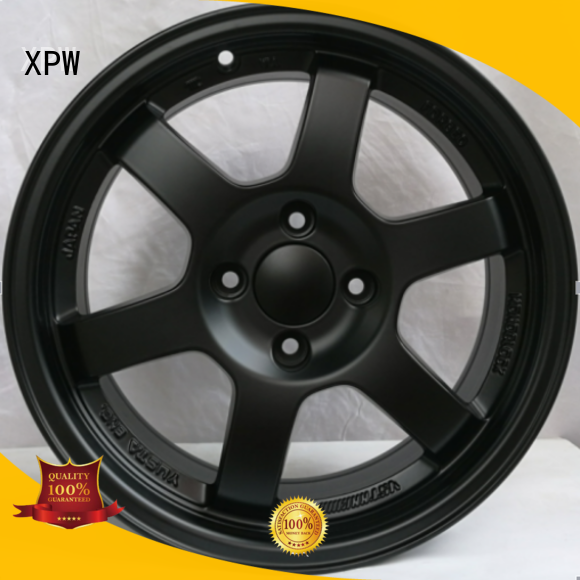 professional 15 inch aluminum wheels power coating design for Honda series