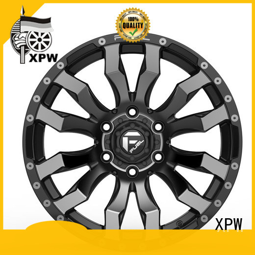 XPW aluminum 17x8 steel wheels series for vehicle