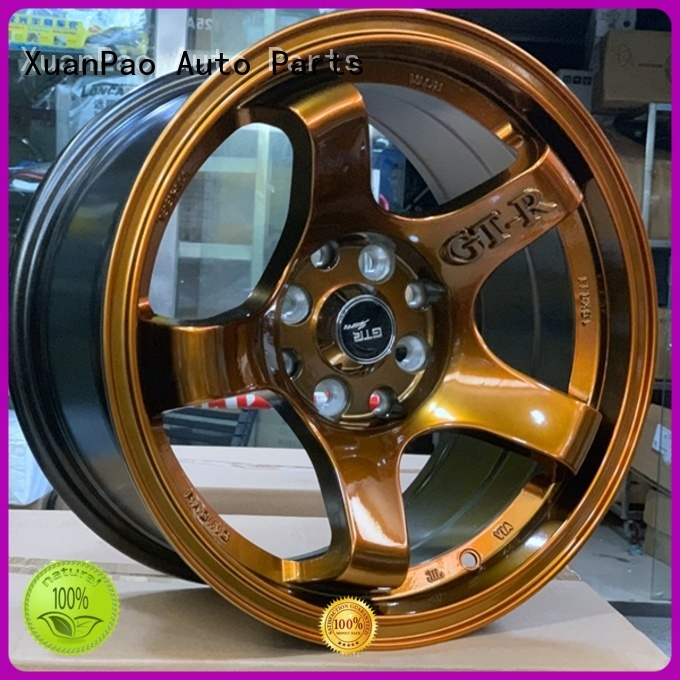 XPW professional 15 inch steel wheels wholesale for Toyota