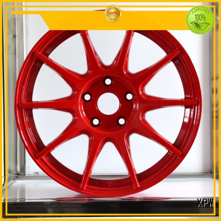 XPW alloy 17 black rims manufacturing for Toyota