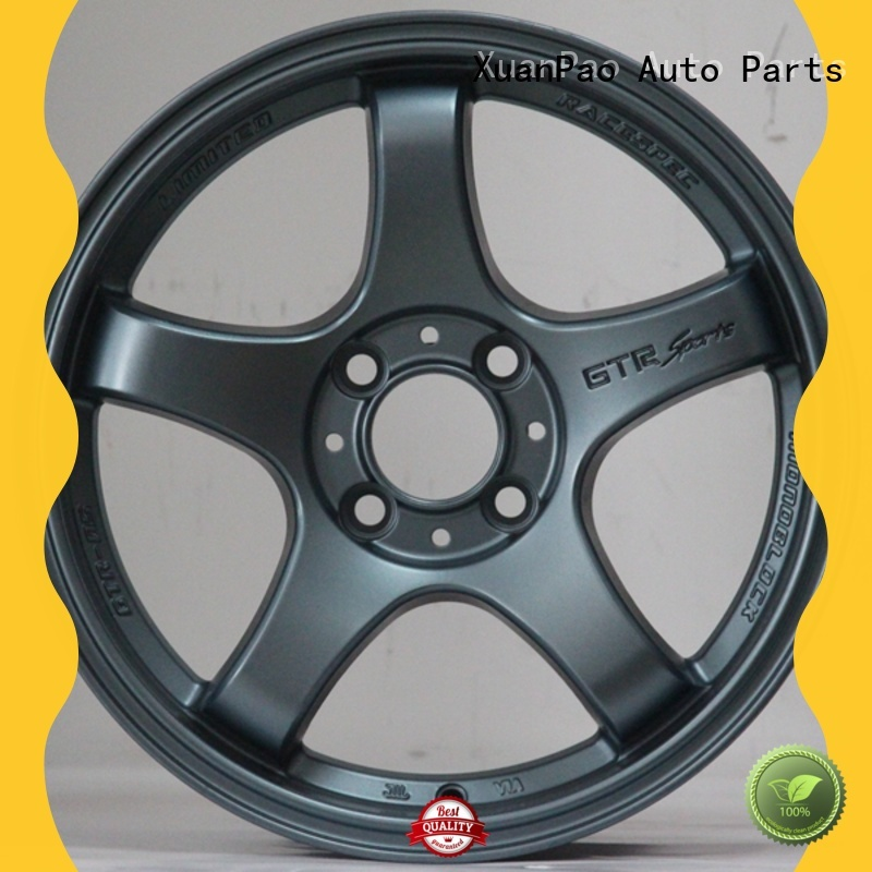 professional 15 inch aluminum rims novel design with beautiful shape design for vehicle