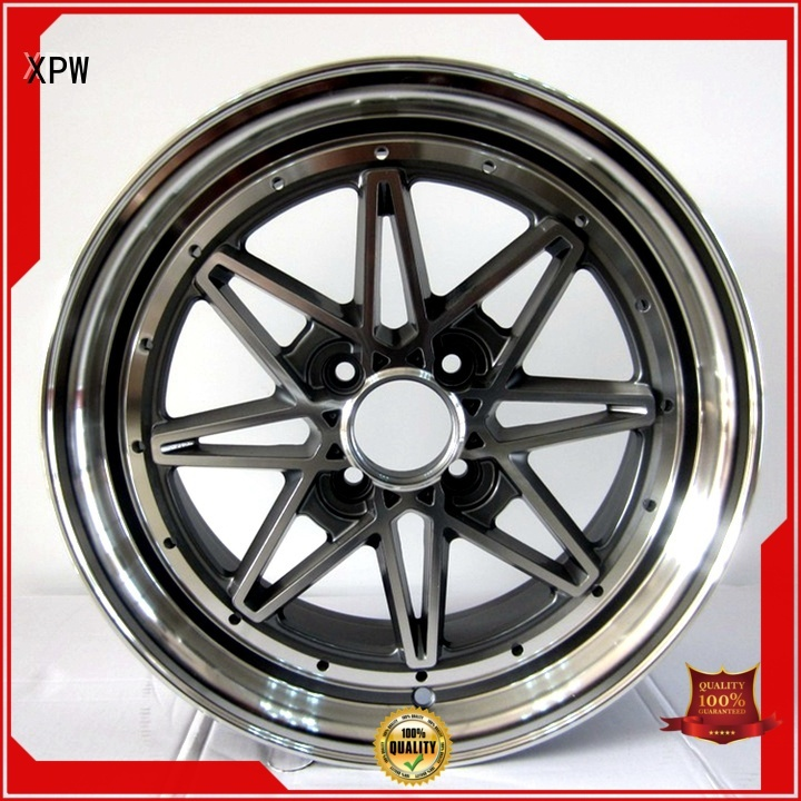 XPW white 15 inch aluminum rims design for vehicle