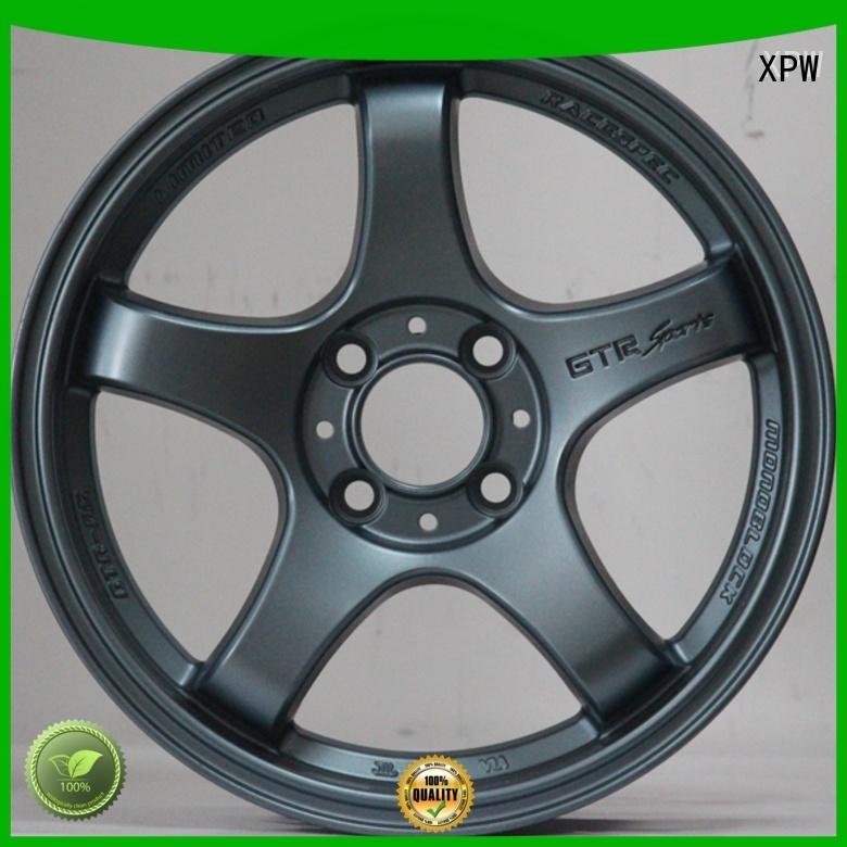 XPW power coating 15 inch steel rims 5 lug design for vehicle