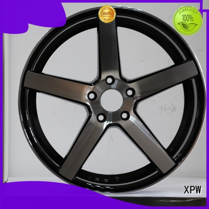 XPW cost-efficient auto wheels manufacturing for Toyota