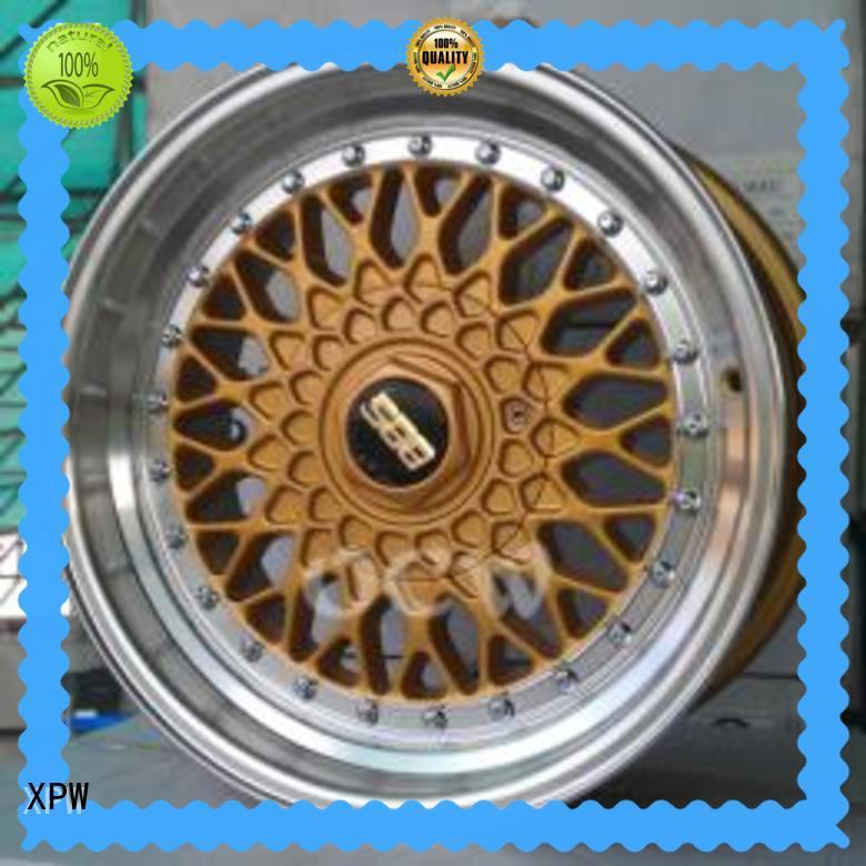 fashion 4x100 17 inch wheels aluminum OEM for vehicle