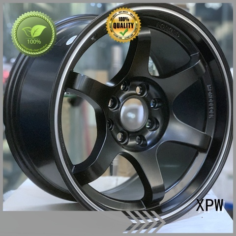 XPW high quality 15 4x100 steel wheels manufacturing for cars