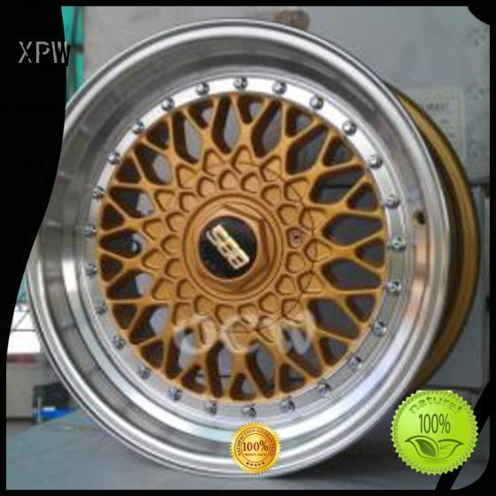 XPW white 15 inch steel wheels wholesale for Toyota
